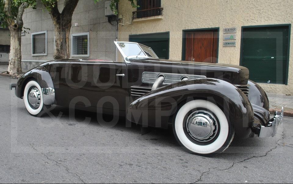 1937 Cord 812 S/C Sportsman