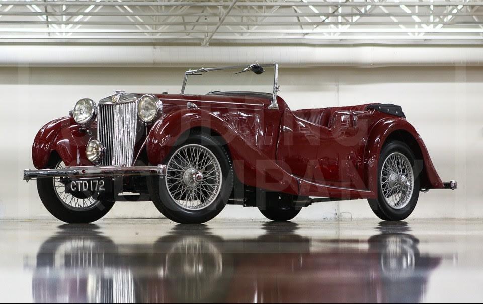 1937 MG VA Tourer