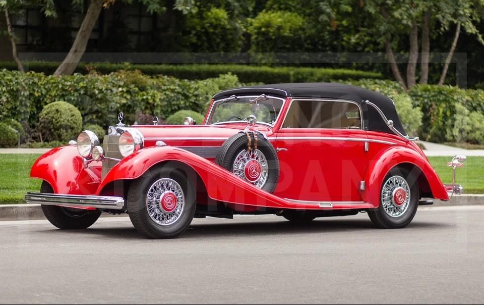 1937 Mercedes-Benz 540 K Cabriolet C