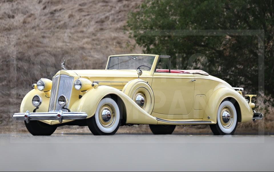 1937 Packard Twelve 1507 Coupe Roadster
