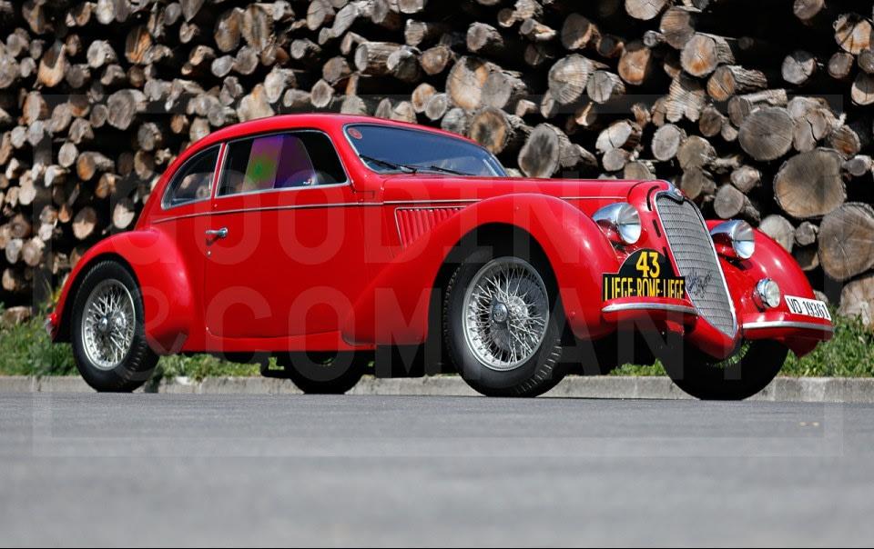 1938 Alfa Romeo 6C 2300B Mille Miglia