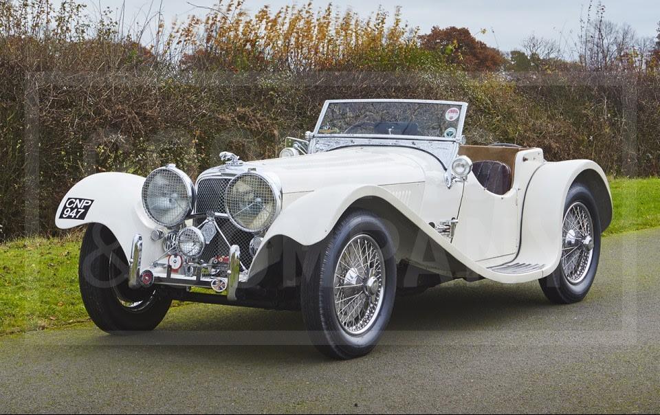 1938 Jaguar SS 100 3 1/2 Litre
