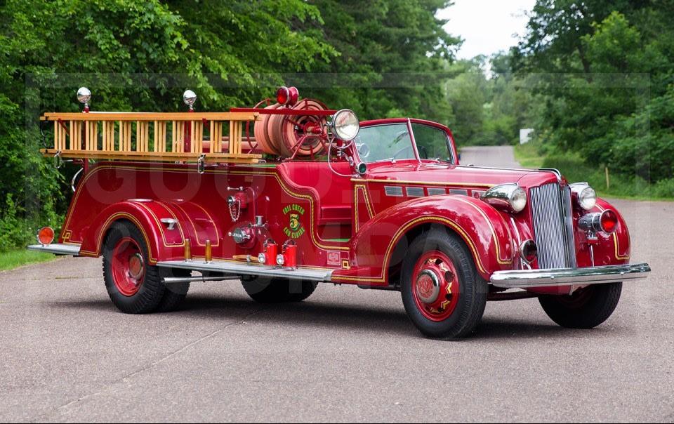1938 Packard Super Eight Fire Truck