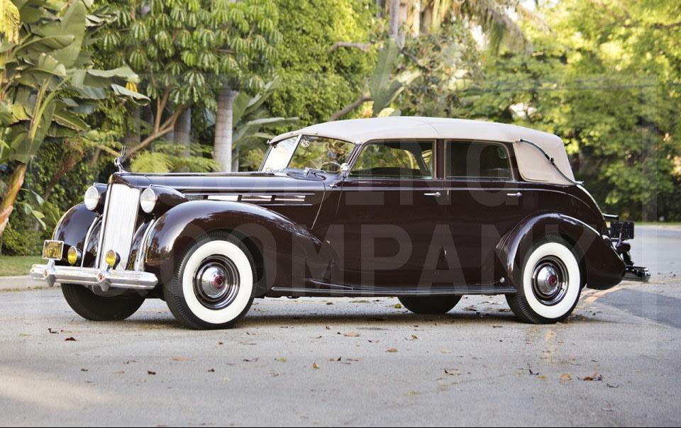 1938 Packard Twelve Model 1608 All-Weather Cabriolet