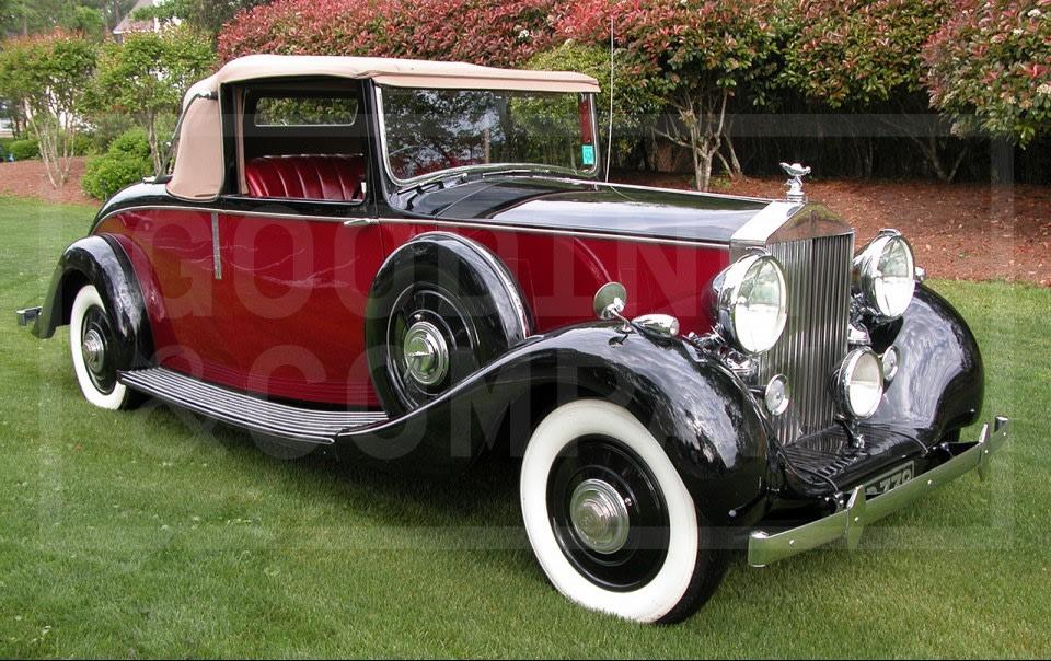 1938 Rolls-Royce Wraith Drophead Coupe