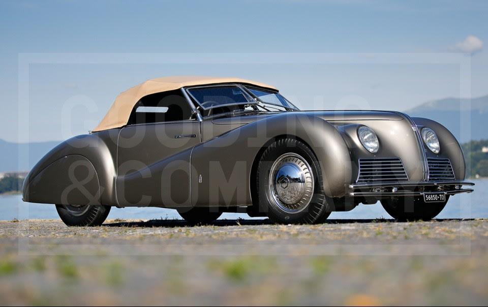 1939 Alfa Romeo Tipo 256 Cabriolet Sportivo