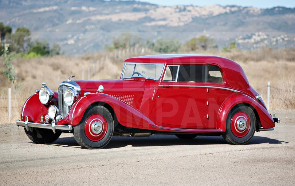 1939 Bentley 4 1/4 Litre Pillarless Coupe