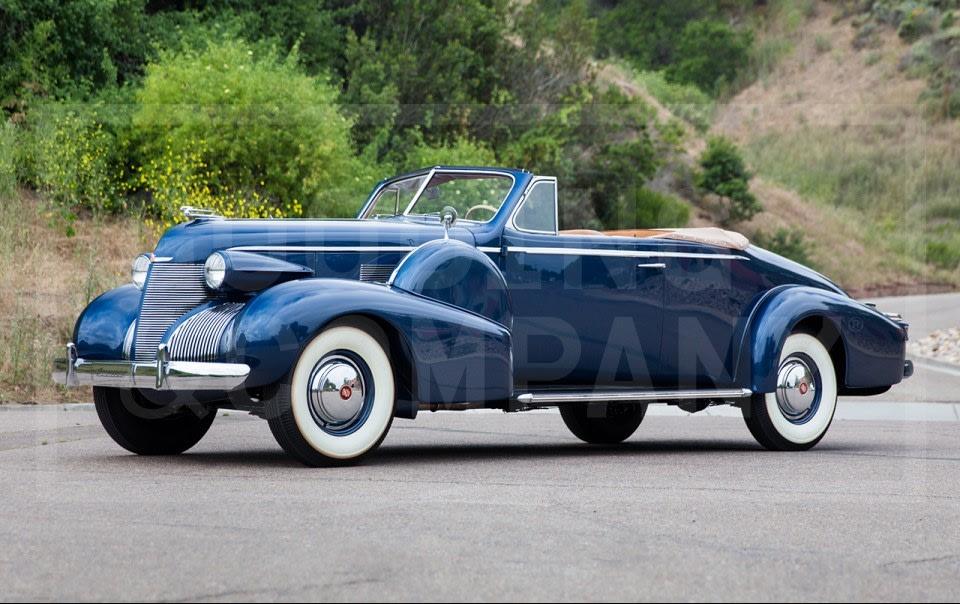 1939 Cadillac Convertible Coupe
