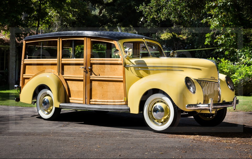 1939 Ford V-8 Model 91A Deluxe Station Wagon