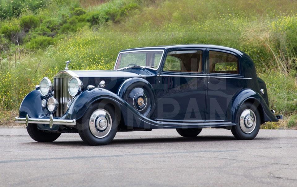 1939 Rolls-Royce Wraith Sports Saloon-2