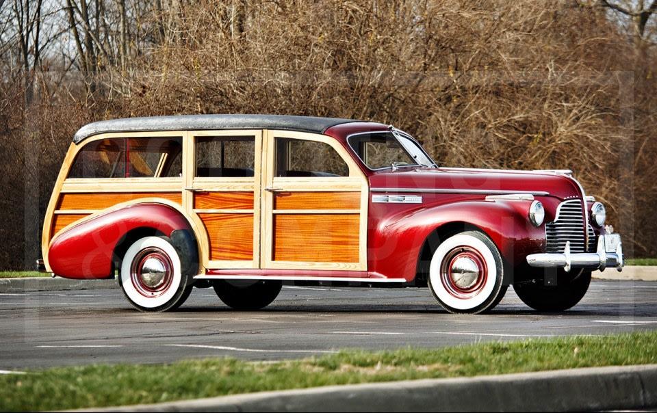 1940 Buick Super Estate Wagon