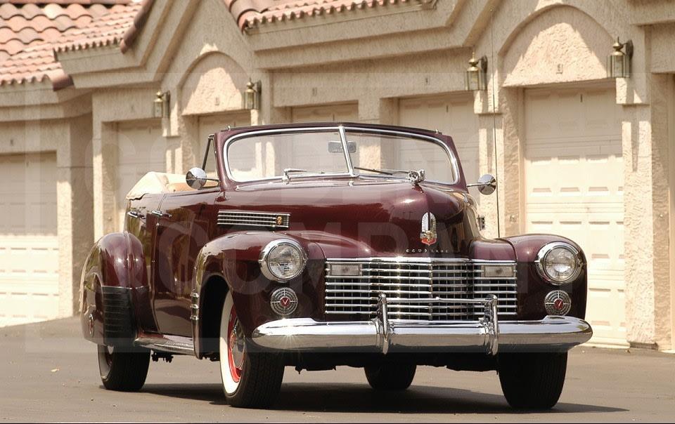 1941 Caddilac Series 62 Convertible Sedan