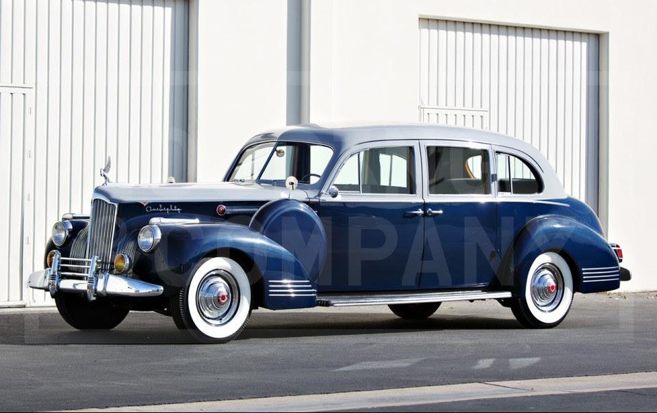 1941 Packard 180 Custom Super Eight Limousine