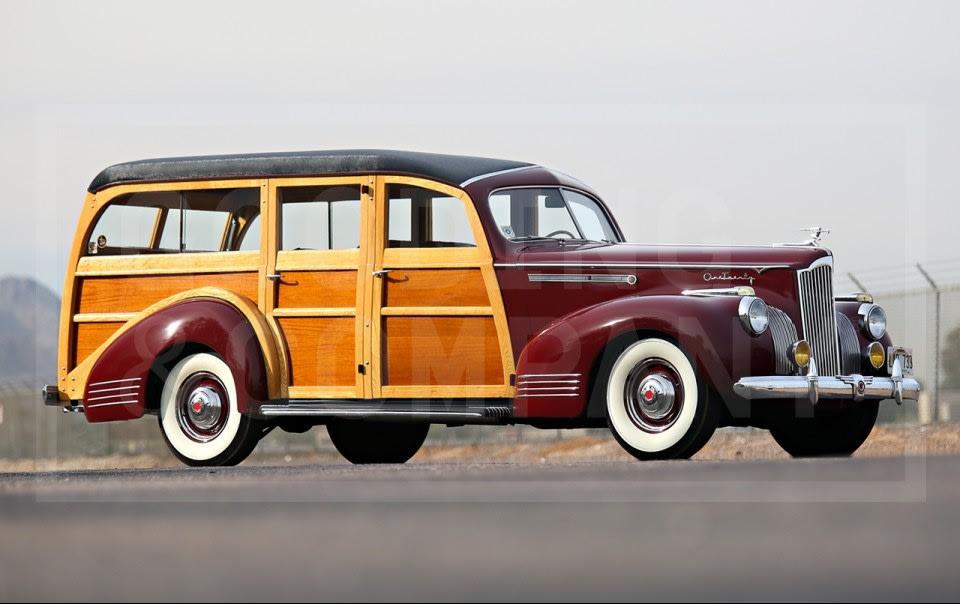1941 Packard One-Twenty Station Wagon