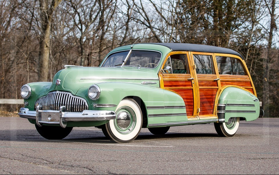 1942 Buick Special Series 40B Estate Wagon