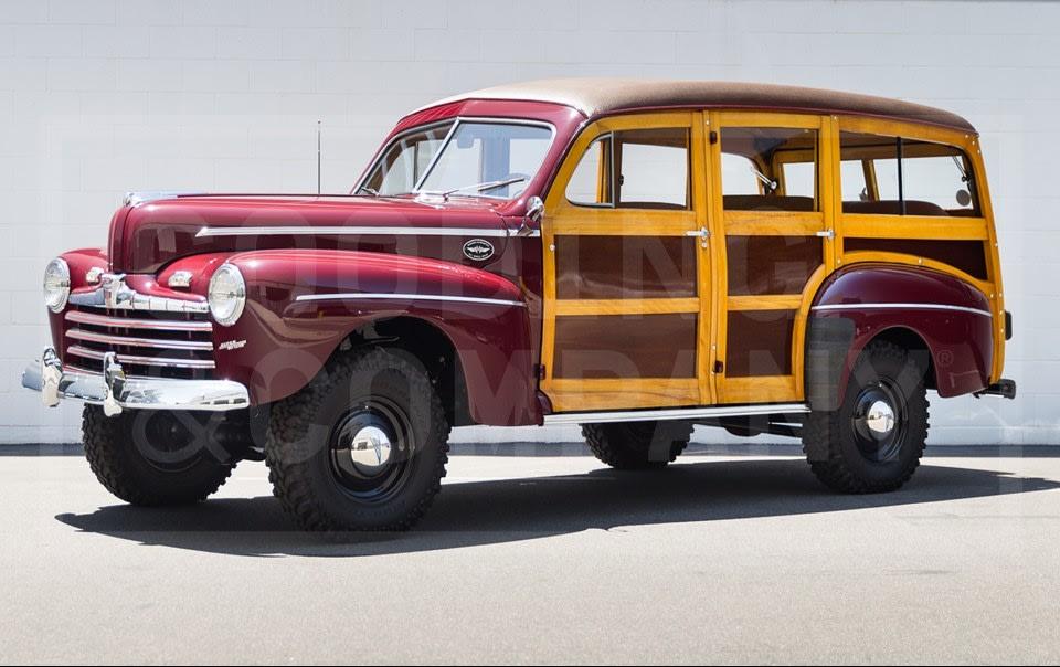 1946 Ford Marmon-Herrington Super Deluxe Station Wagon