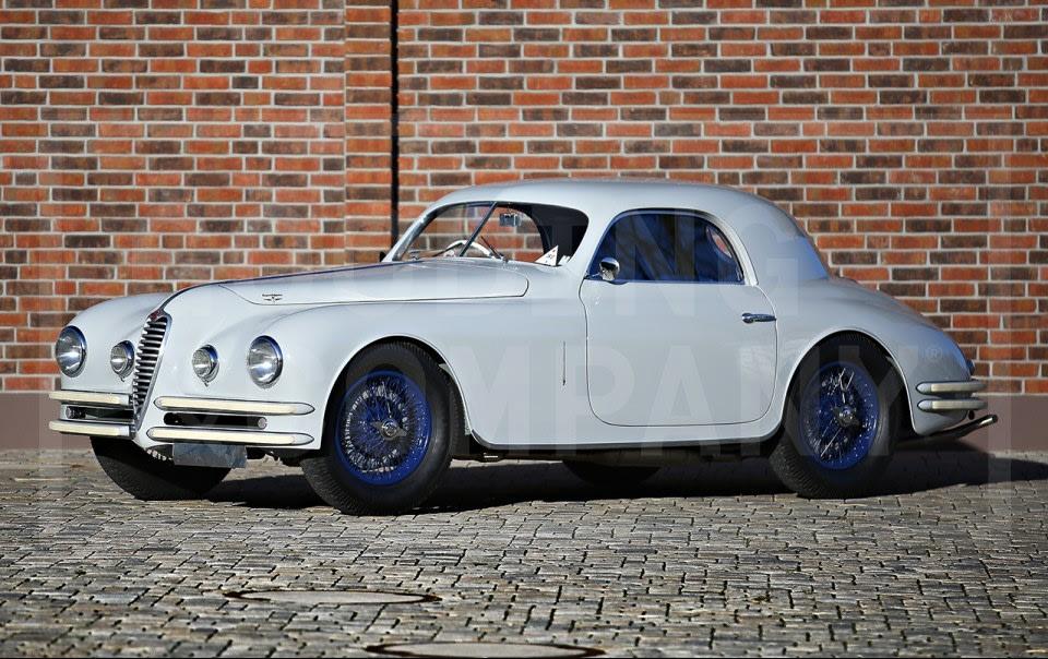 1947 Alfa Romeo 6C 2500 Super Sport Coupe
