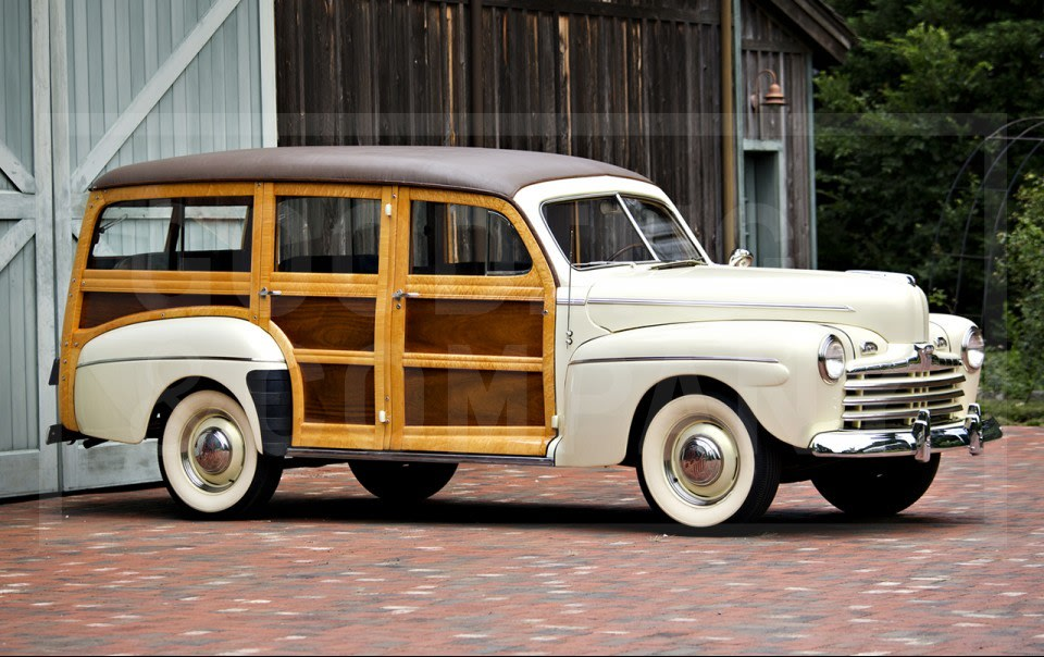 1947 Ford V-8 Model 79A Super Deluxe Station Wagon