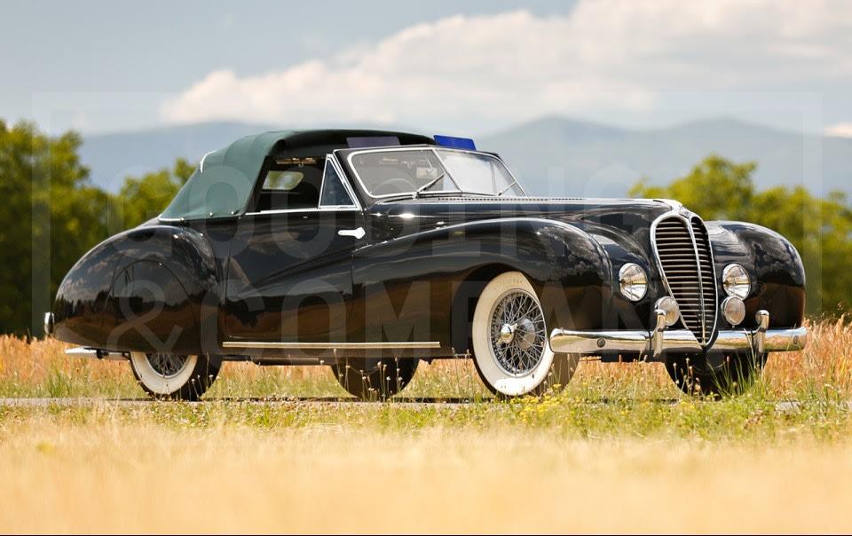 1948 Delahaye 135 MS Three-Position Cabriolet