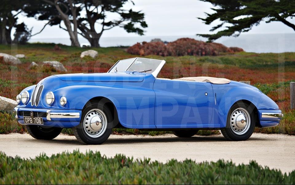 1949 Bristol 402 Cabriolet
