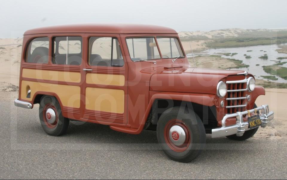 1951 Willys Model 6-73 Station Wagon-1