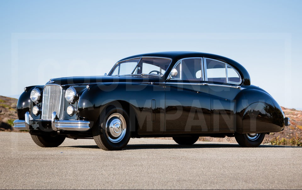 1952 Jaguar Mark VII Deluxe