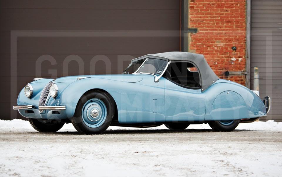 1952 Jaguar XK120 Roadster-3