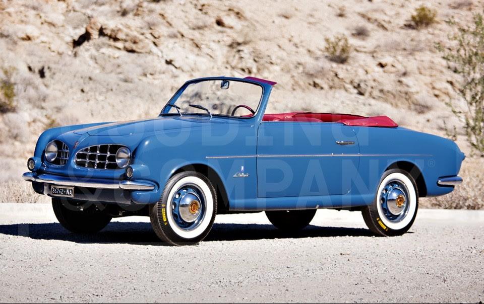 1953 Fiat 1100 Cabriolet