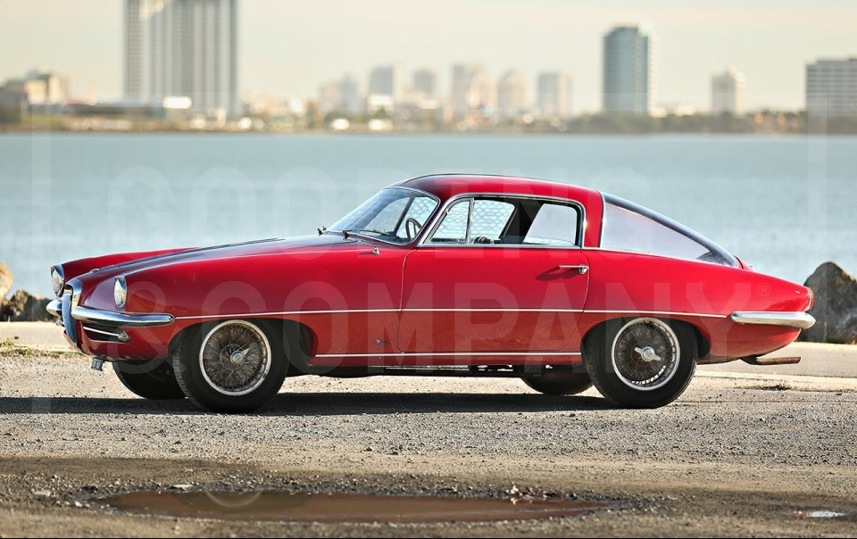 1955 Alfa Romeo 1900C SS Coupe Speciale