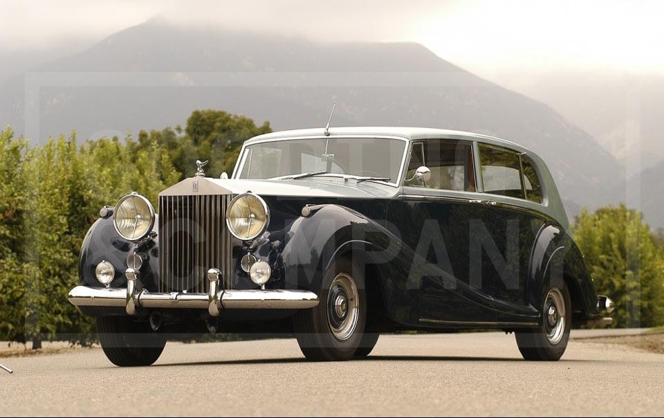 1955 Rolls-Royce Silver Wraith H. J. Mulliner Touring Limousine