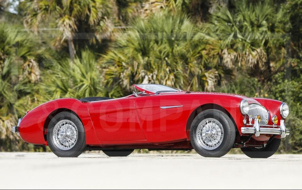 1956 Austin-Healey 100/4 BN2 Le Mans-4