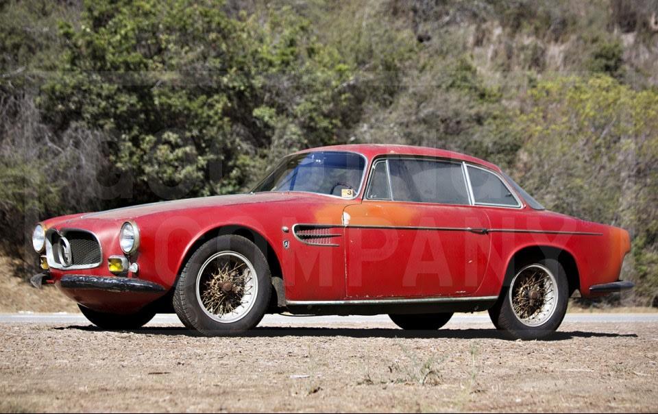 1956 Maserati A6G/2000 Coupe-2