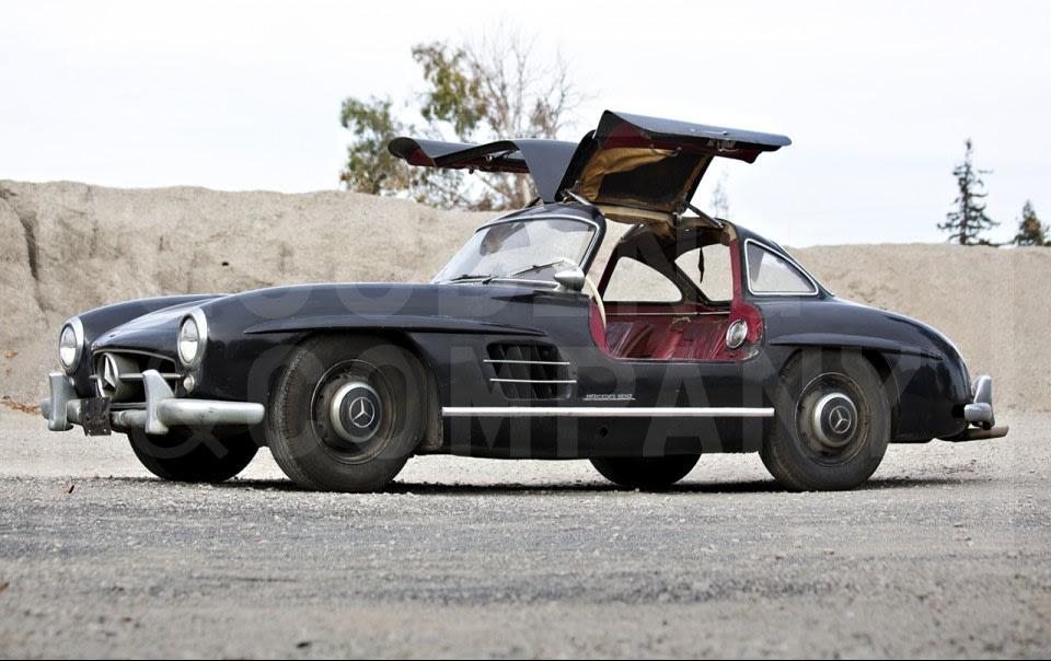 1956 Mercedes-Benz 300 SL Gullwing-3