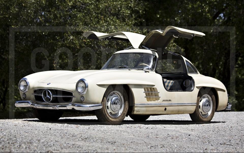1956 Mercedes-Benz 300 SL Gullwing-8