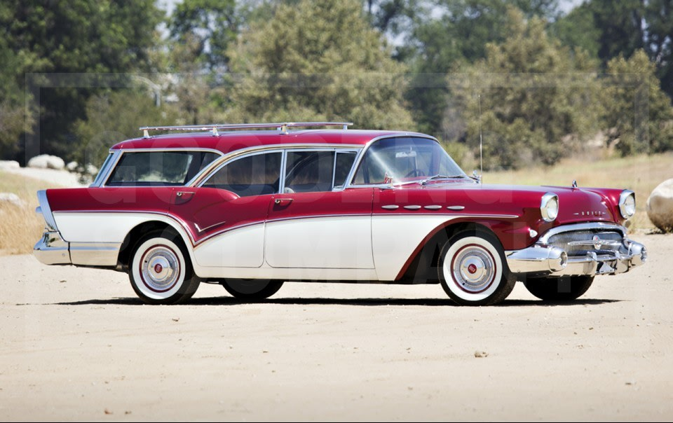 1957 Buick Caballero Estate Wagon-2