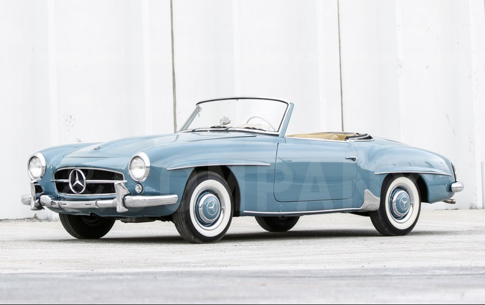 1957 Mercedes-Benz 190 SL-3