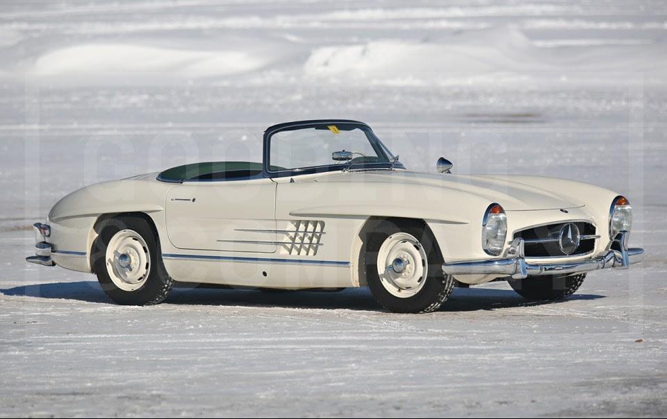 1957 Mercedes-Benz 300 SL Roadster-13