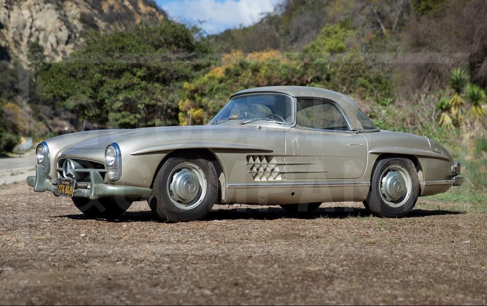 1957 Mercedes-Benz 300 SL Roadster-14
