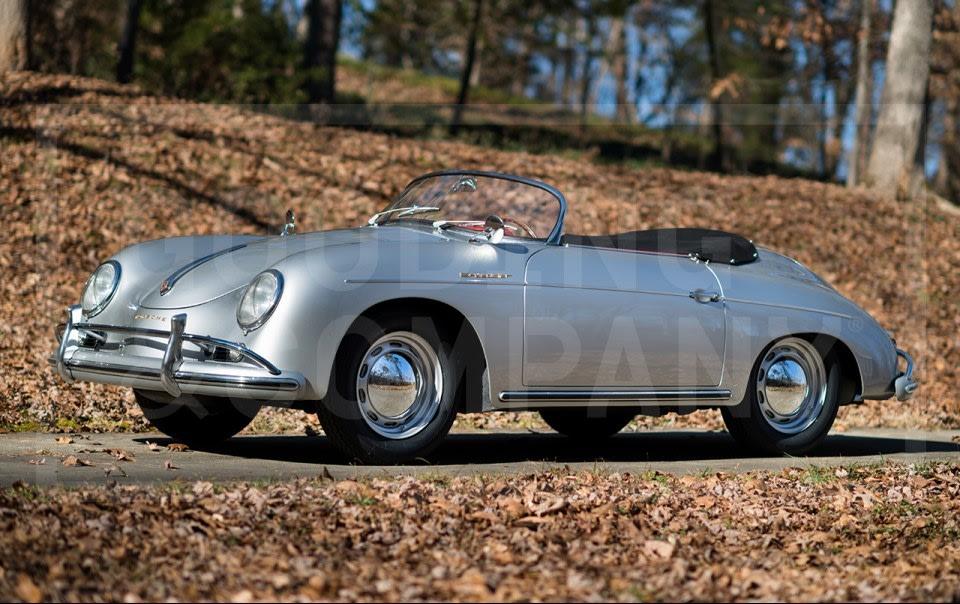 1957 Porsche 356 A Speedster-3