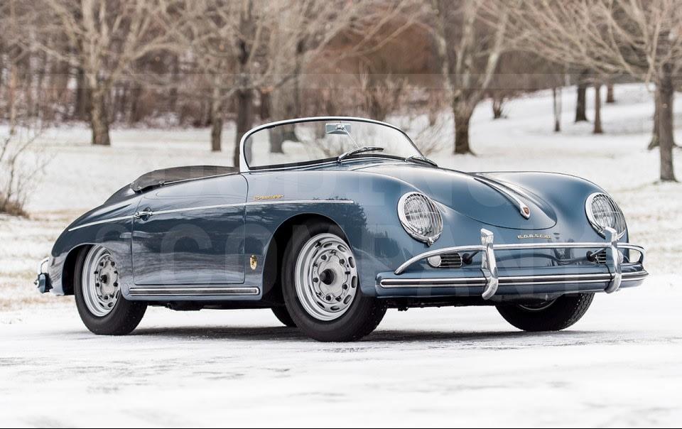 1957 Porsche 356 A Speedster-7