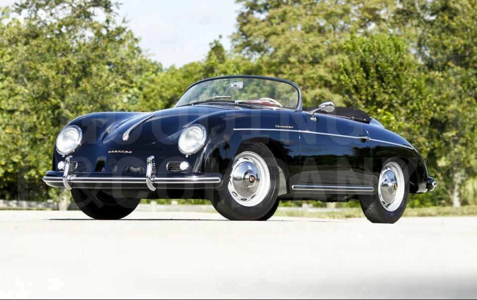 1957 Porsche 356 A Speedster-8