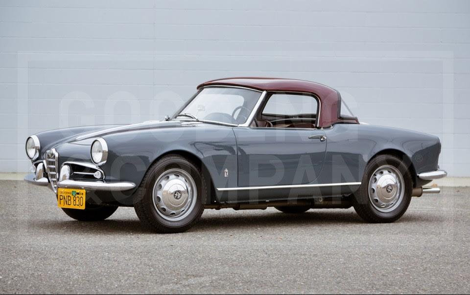 1958 Alfa Romeo Giulietta Spider Veloce (1)