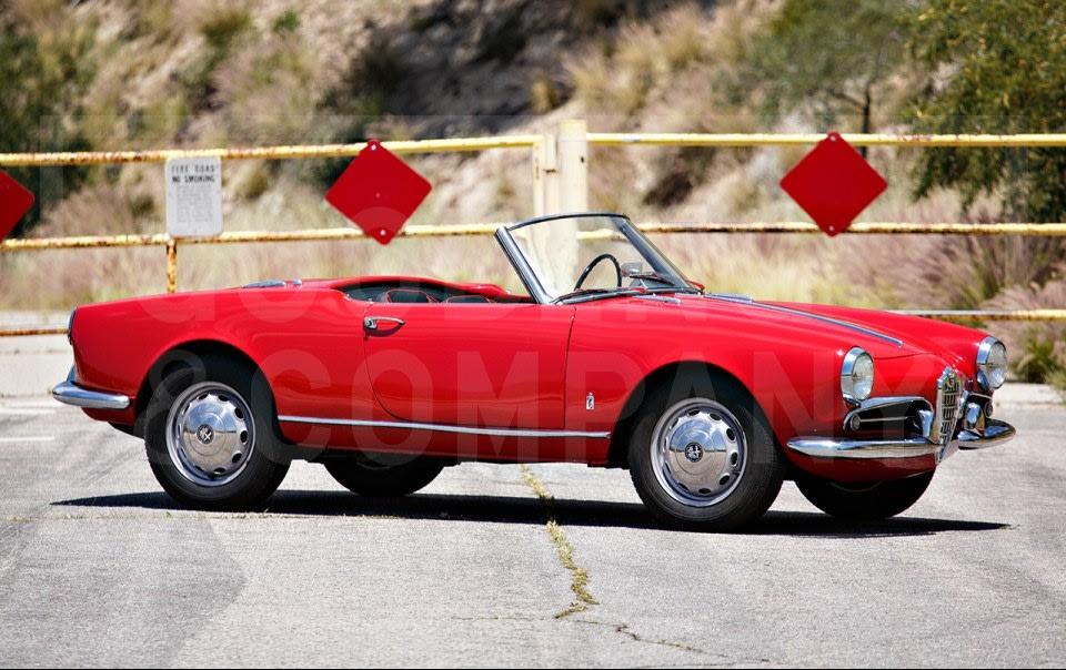 1958 Alfa Romeo Giulietta Spider-3