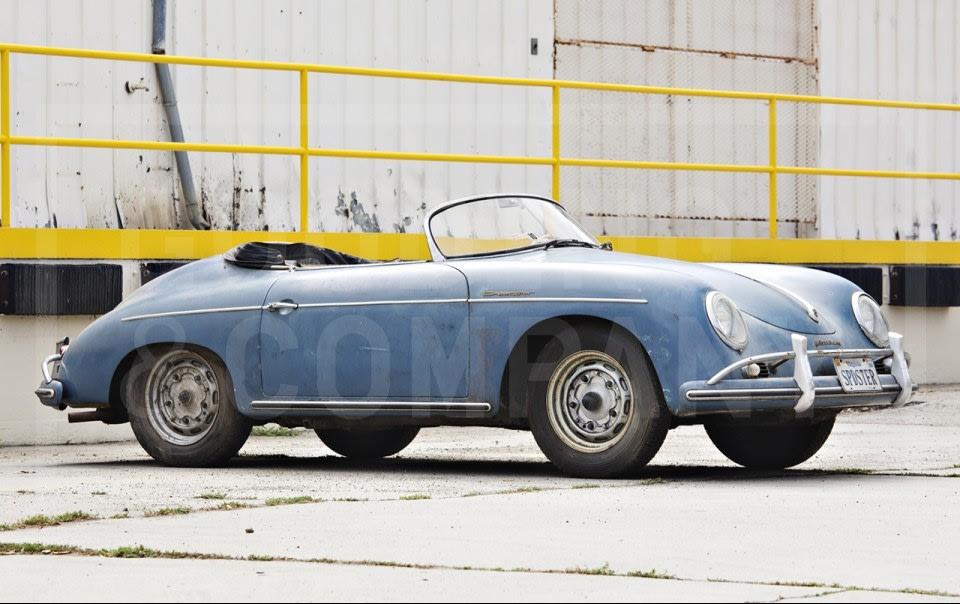 1958 Porsche 356 A Speedster-11