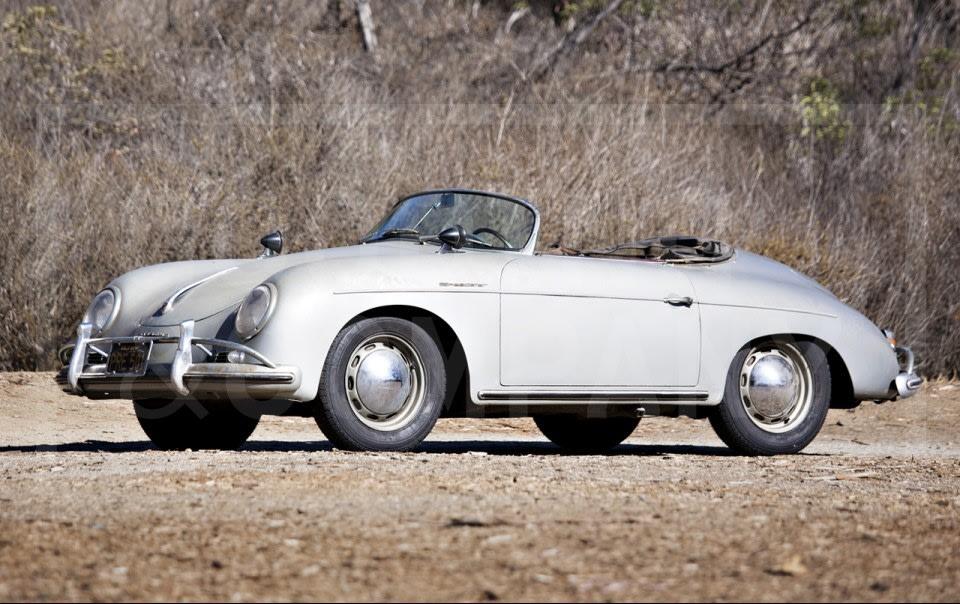 1958 Porsche 356 A Speedster-9