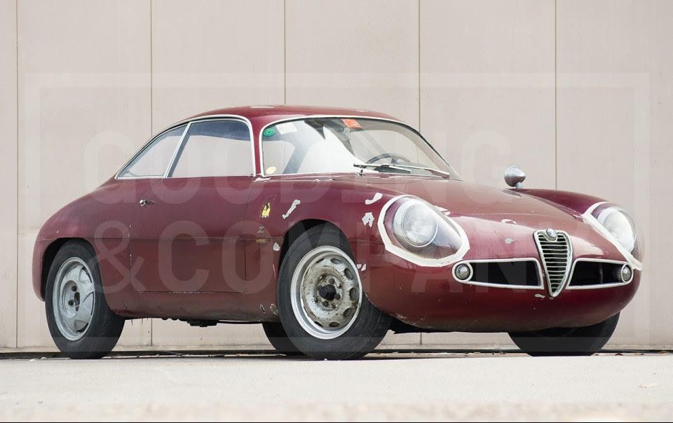 1960 Alfa Romeo Giulietta SZ (1)