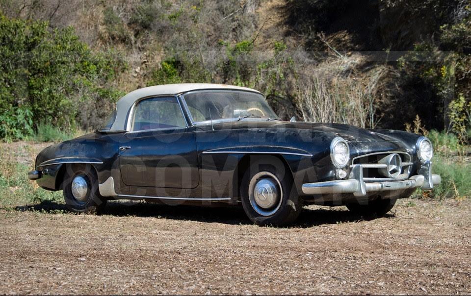 1960 Mercedes-Benz 190 SL-2