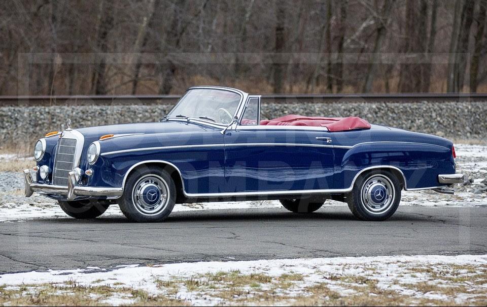 1960 Mercedes-Benz 220 SE Cabriolet-4
