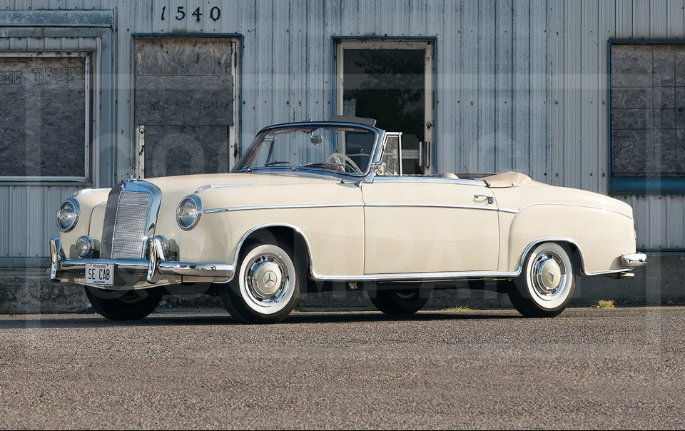 1960 Mercedes-Benz 220 SE Cabriolet-5