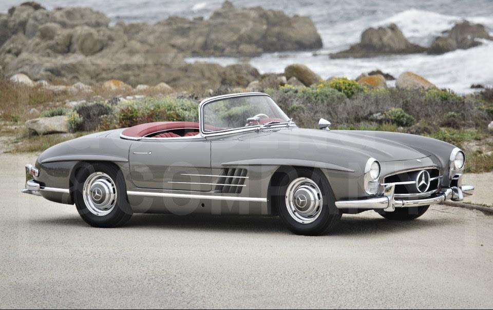 1960 Mercedes-Benz 300 SL Roadster-7